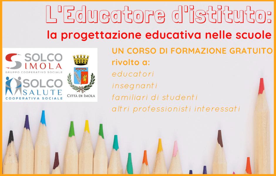 CORSO_L'Educatore d'istituto: la progettazione educativa nelle scuole