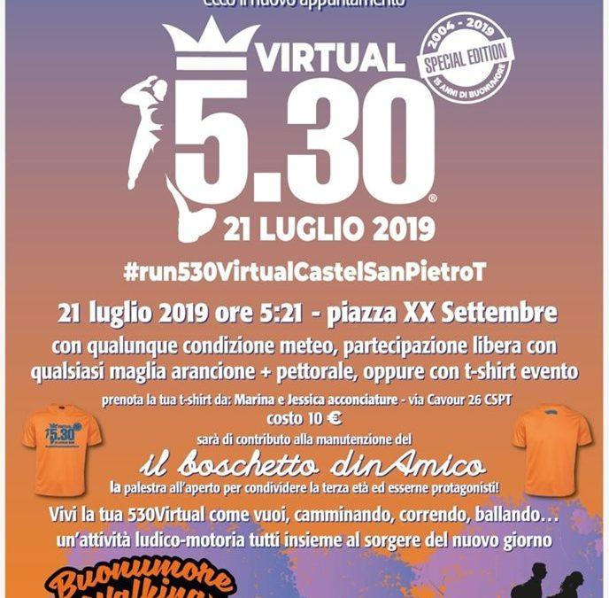 VIRTUAL 5:30 – Special Edition a Castel San Pietro Terme